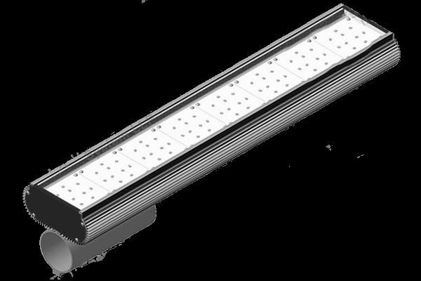 Консольный светодиодный светильник Prometey 100, защита IP 67. Срок службы 70000ч. Сертификаты качества и CT KZ. Сделано в Казахстане